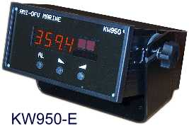 KW950E display interface ideal for VDR SVDR s-VDR simplified voyage data recorder